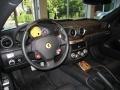 2009 Ferrari 599 GTB Fiorano Black Interior Steering Wheel Photo