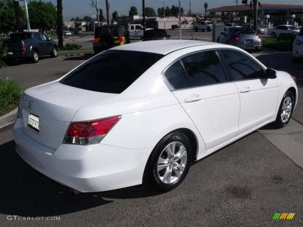 Taffeta White 2008 Honda Accord Lx P Sedan Exterior Photo