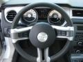 2011 Ford Mustang Stone Interior Steering Wheel Photo