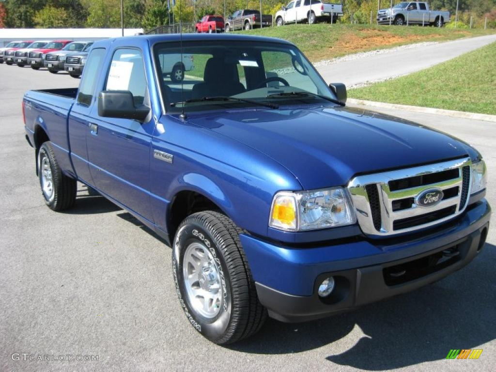 vista blue metallic 2011 ford ranger xlt supercab 4x4. Black Bedroom Furniture Sets. Home Design Ideas