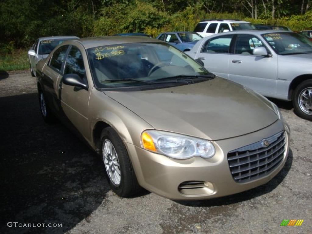 2004 light almond pearl metallic chrysler sebring lx sedan. Black Bedroom Furniture Sets. Home Design Ideas