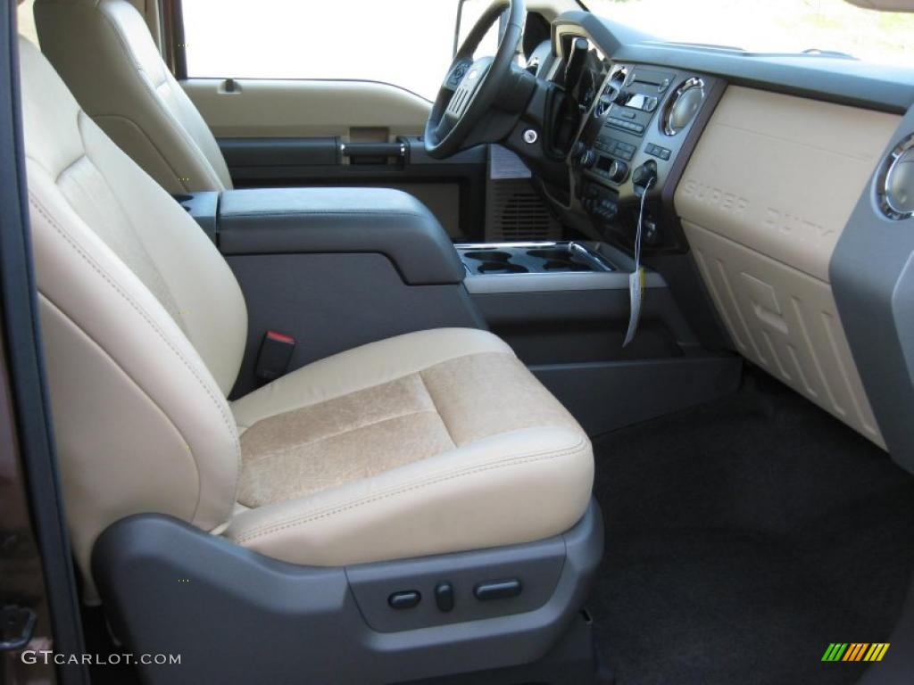 adobe  tone leather interior  ford  super duty lariat supercab  photo
