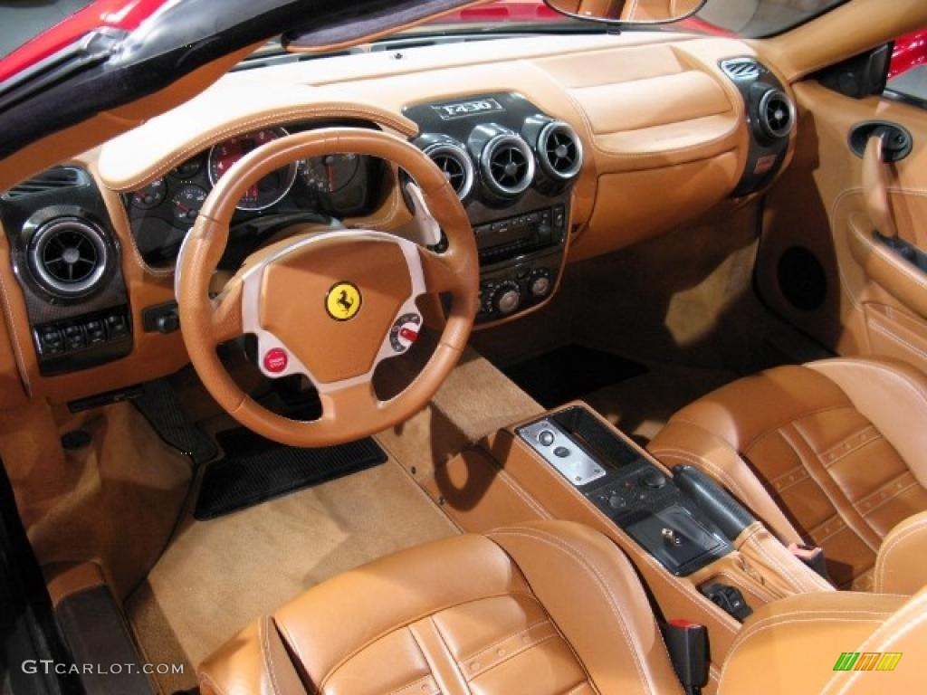 beige interior 2005 ferrari f430 spider photo 37901159. Black Bedroom Furniture Sets. Home Design Ideas
