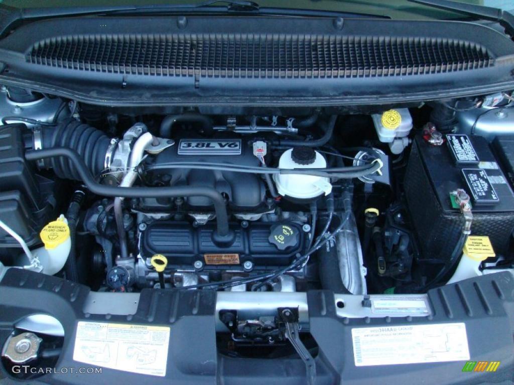 2005 Dodge Grand Caravan Sxt 3 8l Ohv 12v V6 Engine Photo