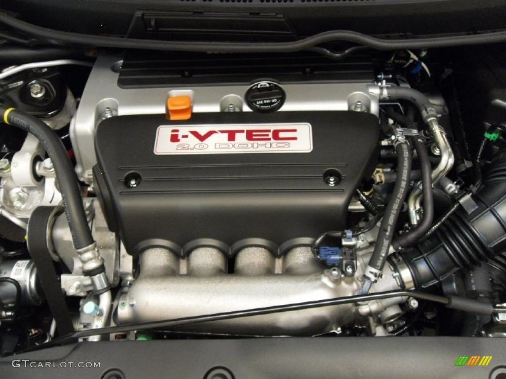 2011 Honda Civic Si Coupe 2 0 Liter Dohc 16 Valve I Vtec 4 Cylinder Engine Photo 37908752