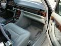 1991 S Class 560 SEL Grey Interior