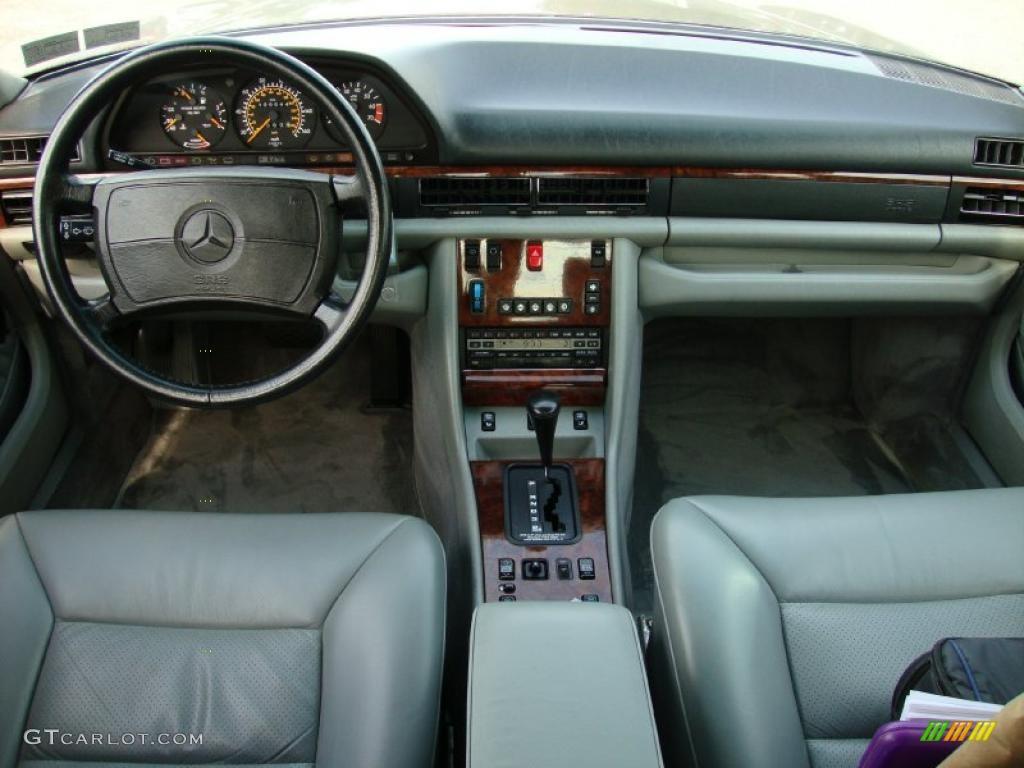 Grey Interior 1991 Mercedes Benz S Class 560 Sel Photo