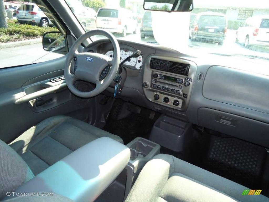 Dark Graphite Interior 2001 Ford Explorer Sport Trac Standard Explorer Sport Trac Model Photo