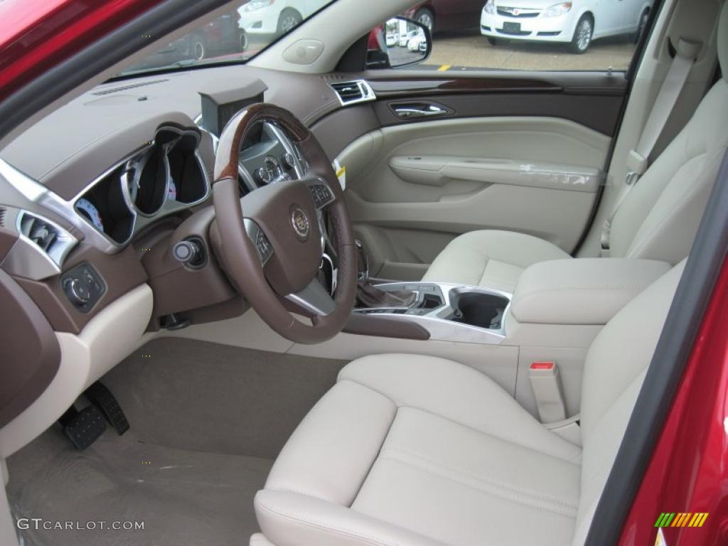 Shale Brownstone Interior 2011 Cadillac Srx Fwd Photo 37925226