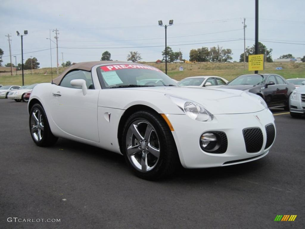 pure white 2008 pontiac solstice gxp roadster exterior. Black Bedroom Furniture Sets. Home Design Ideas