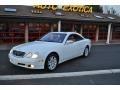 Glacier White 2000 Mercedes-Benz CL 500