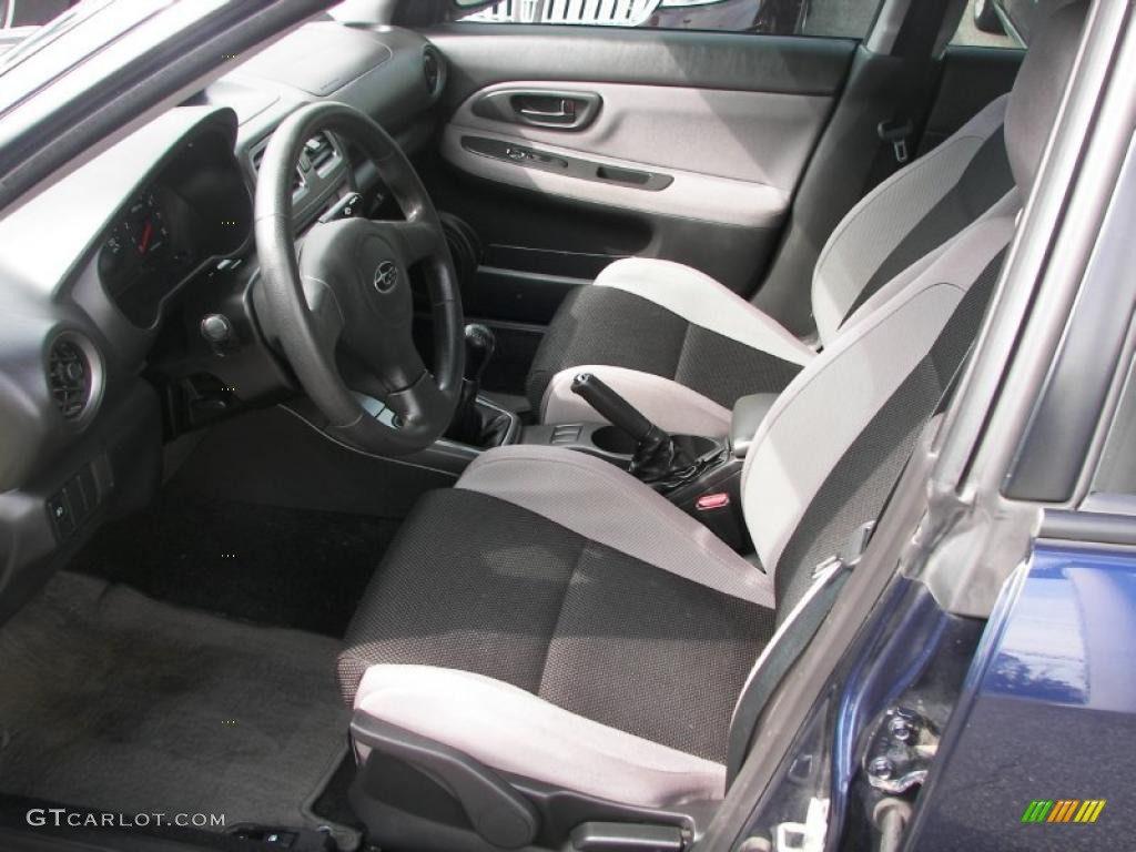 Anthracite Black Interior 2006 Subaru Impreza 2.5i Sedan Photo #37931158 | GTCarLot.com