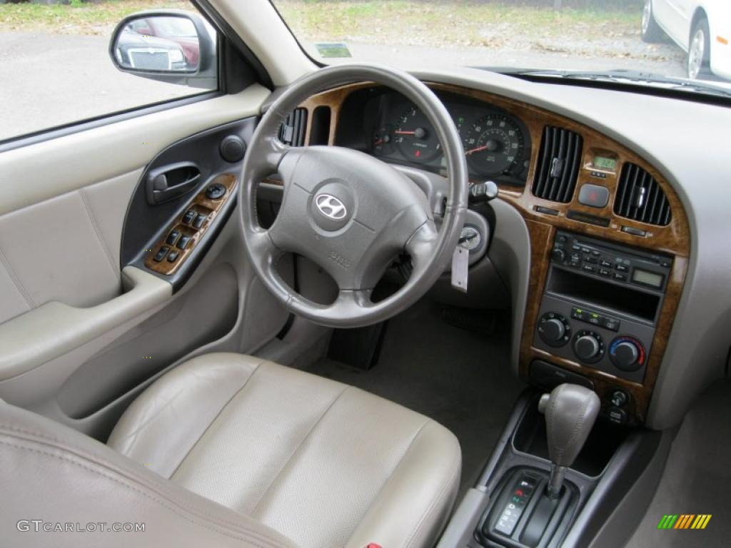 2006 Hyundai Elantra Gls Sedan Interior Photo 37931930