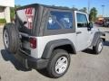 2011 Bright Silver Metallic Jeep Wrangler Sport 4x4  photo #7