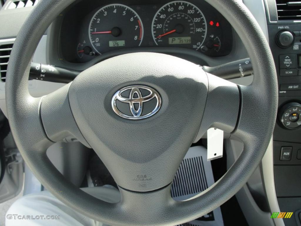 2009 toyota corolla le steering wheel photos. Black Bedroom Furniture Sets. Home Design Ideas