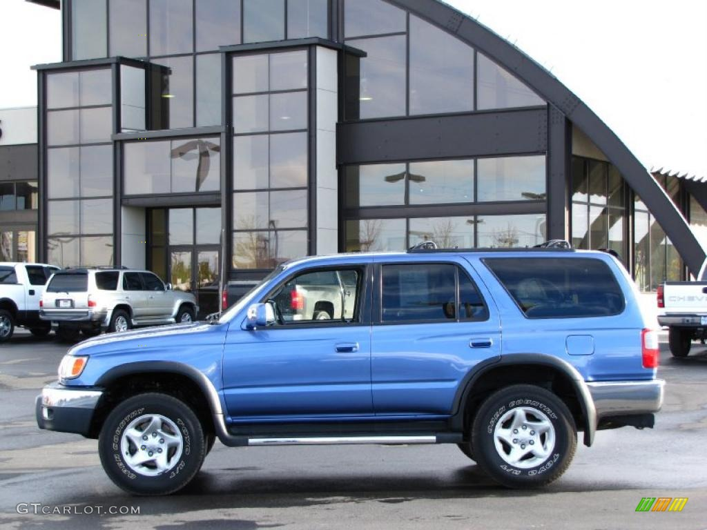 1999 horizon blue metallic toyota 4runner sr5 4x4 37896563 car color galleries. Black Bedroom Furniture Sets. Home Design Ideas