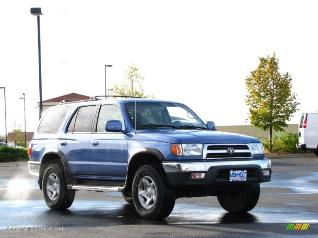 1999 horizon blue metallic toyota 4runner sr5 4x4 37896563 photo 2 car color. Black Bedroom Furniture Sets. Home Design Ideas