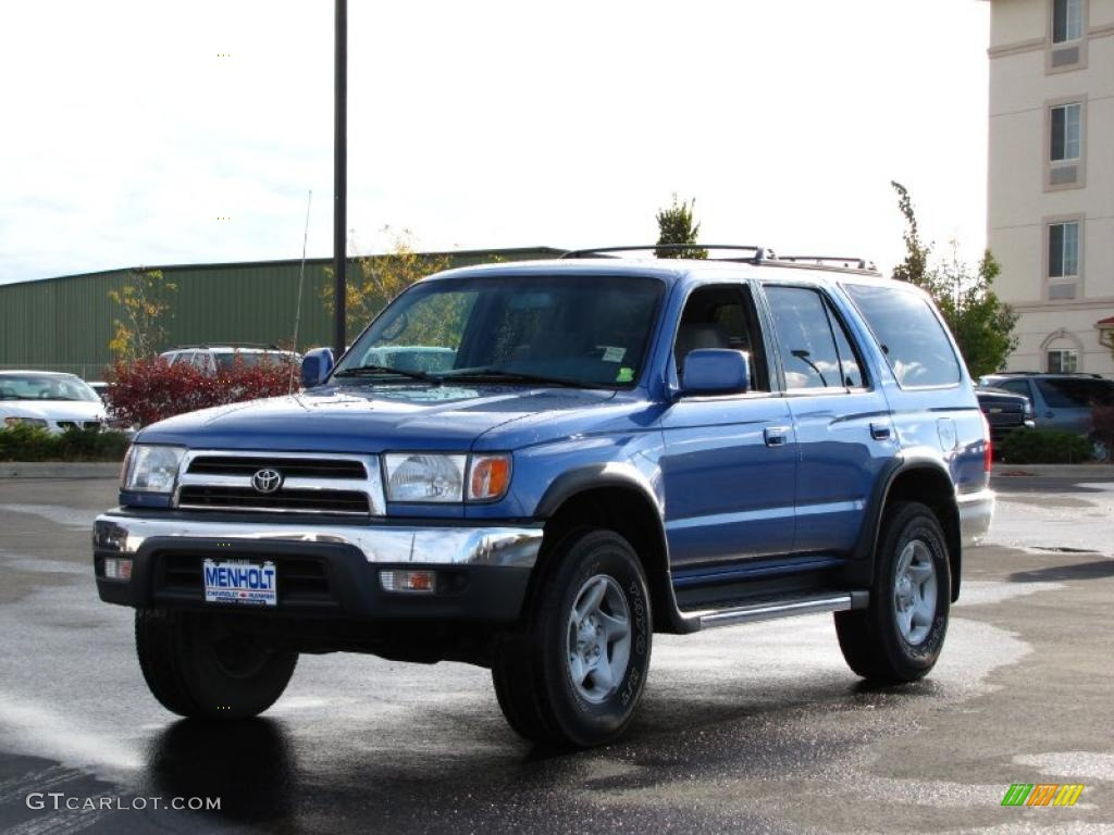 Horizon Blue Metallic 1999 Toyota 4runner Sr5 4x4 Exterior Photo 37941818 Gtcarlot Com