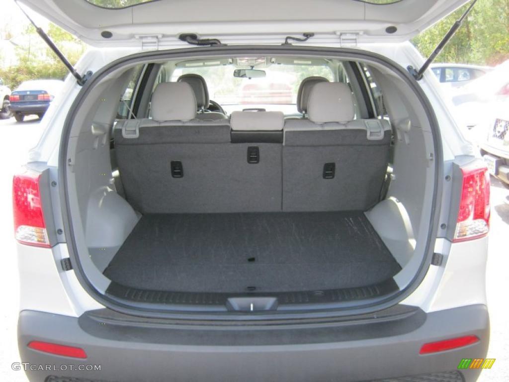 2011 Sorento LX AWD - Bright Silver / Gray photo #6