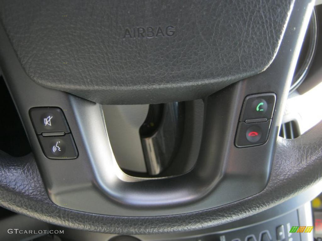 2011 Sorento LX AWD - Bright Silver / Gray photo #9