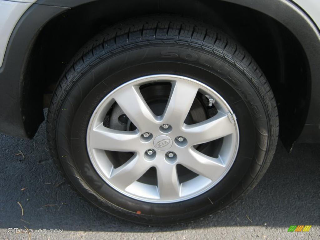 2011 Sorento LX AWD - Bright Silver / Gray photo #18