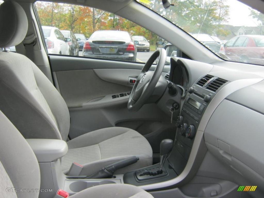 Ash Interior 2009 Toyota Corolla Le Photo 37943691
