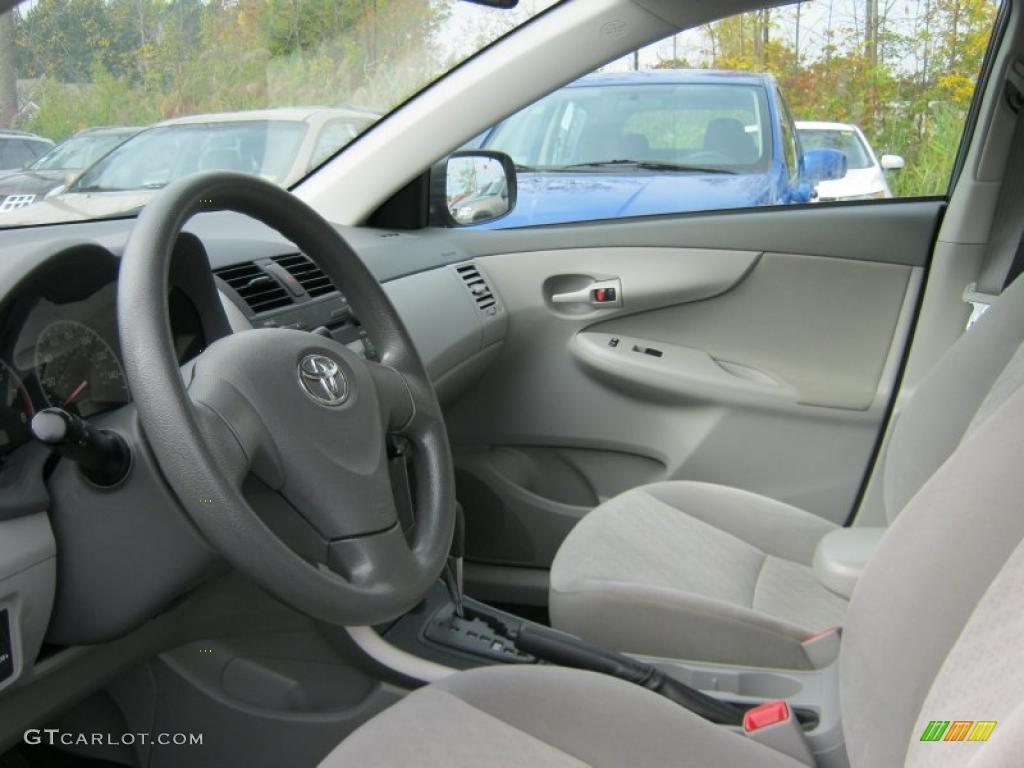 Ash Interior 2009 Toyota Corolla Le Photo 37943743