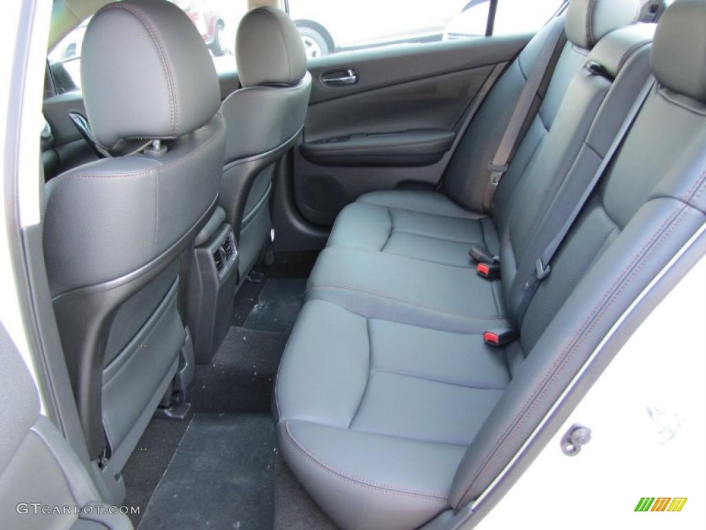 charcoal interior 2011 nissan maxima 3 5 sv photo. Black Bedroom Furniture Sets. Home Design Ideas