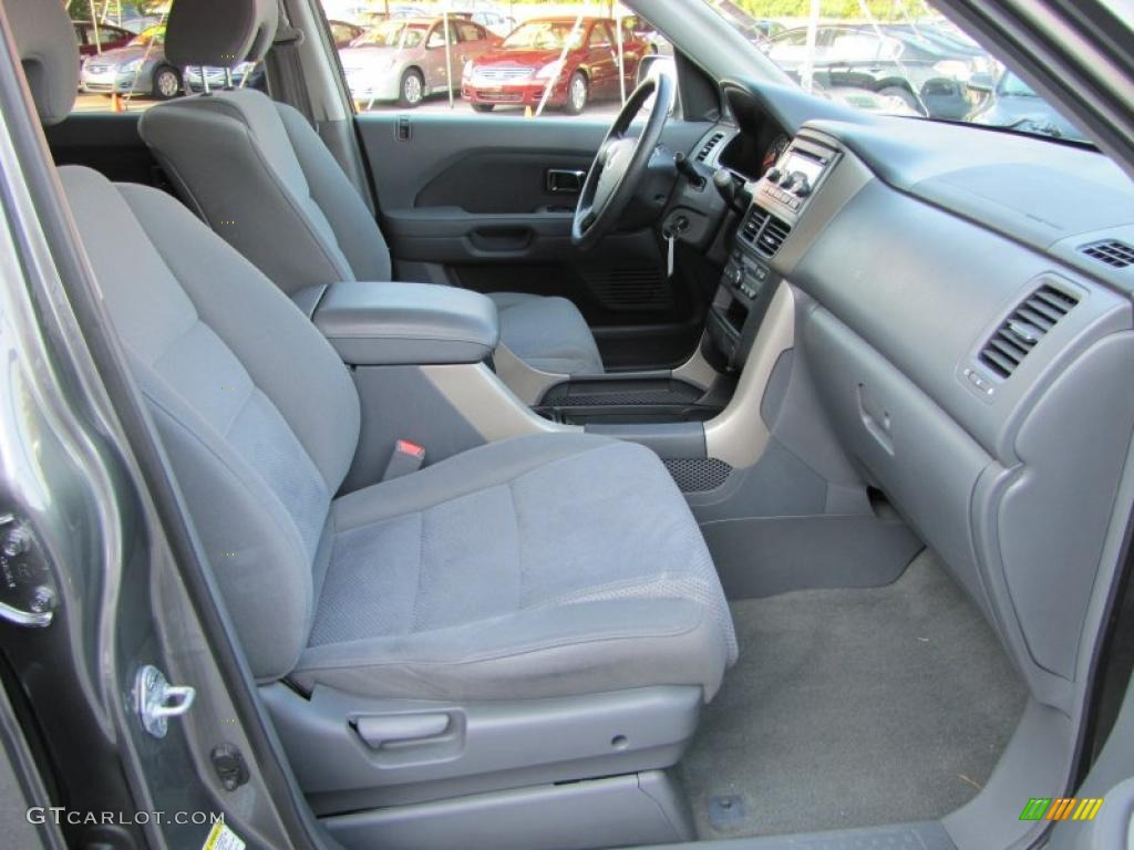 Gray Interior 2007 Honda Pilot Ex Photo 37949748