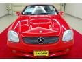 2001 Magma Red Mercedes-Benz SLK 320 Roadster  photo #12