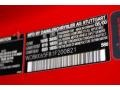 2001 SLK 320 Roadster Magma Red Color Code 586