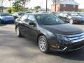 2011 Tuxedo Black Metallic Ford Fusion SEL V6  photo #3