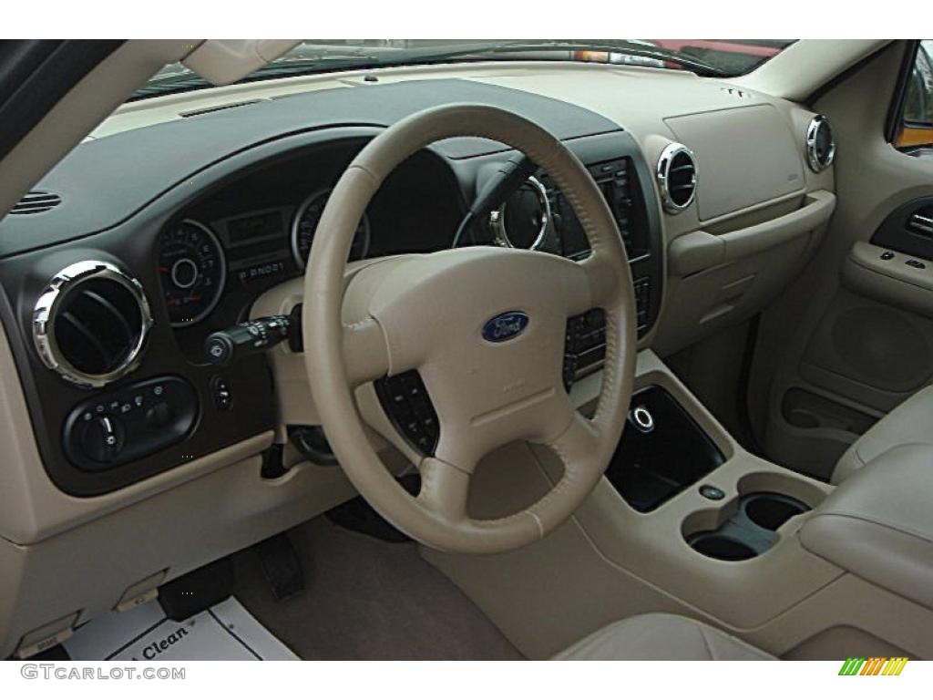 Medium Parchment Interior 2006 Ford Expedition Eddie Bauer