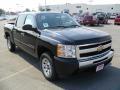 2011 Black Chevrolet Silverado 1500 LS Crew Cab  photo #5
