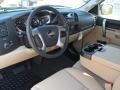 Light Cashmere/Ebony Interior Photo for 2011 Chevrolet Silverado 1500 #37970913