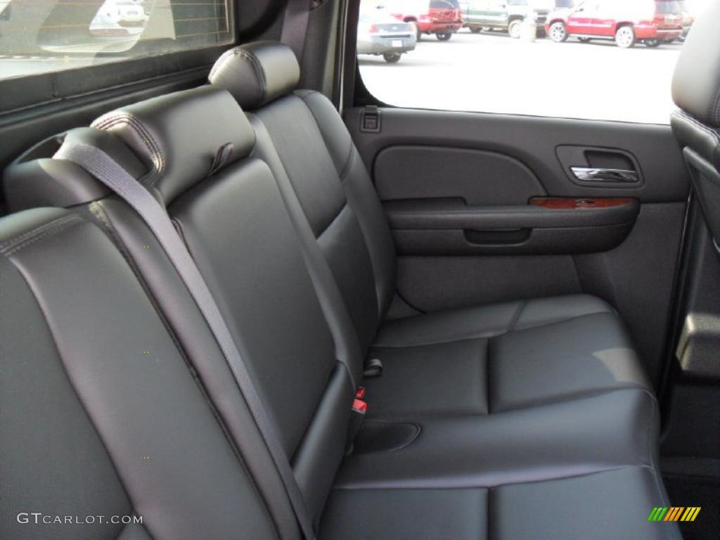chevrolet avalanche interior ebony - photo #31