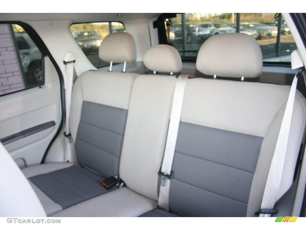 Stone Interior 2008 Ford Escape Hybrid 4WD Photo #37975784