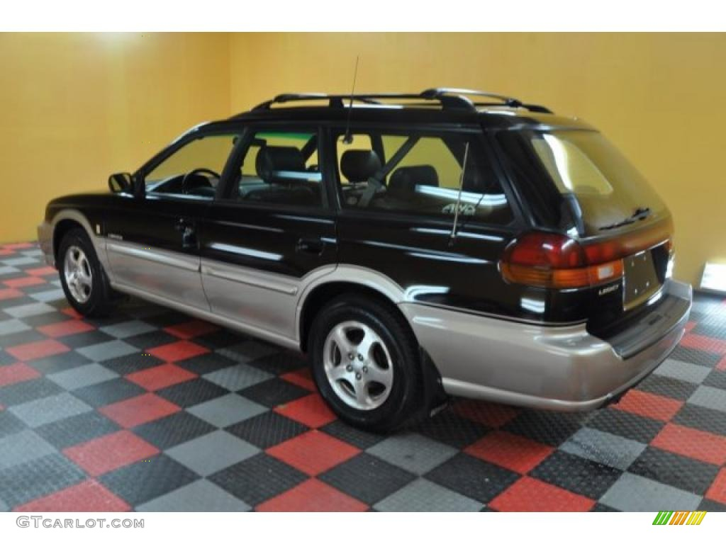 1998 black granite pearl subaru legacy outback limited wagon 37946190 photo 4 gtcarlot com car color galleries gtcarlot com