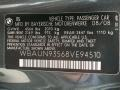 Info Tag of 2008 1 Series 135i Convertible