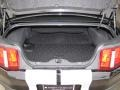 2010 Ford Mustang Charcoal Black/White Interior Trunk Photo