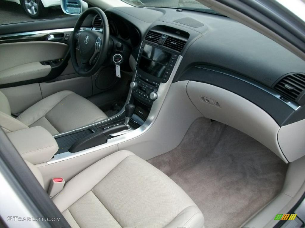 taupe interior 2008 acura tl 3 2 photo 37993629. Black Bedroom Furniture Sets. Home Design Ideas