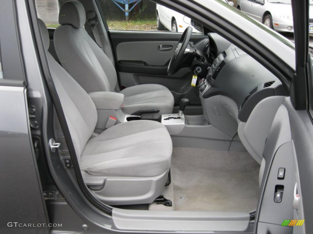 Elantra Gls 2015 >> Gray Interior 2008 Hyundai Elantra GLS Sedan Photo #37996561 | GTCarLot.com