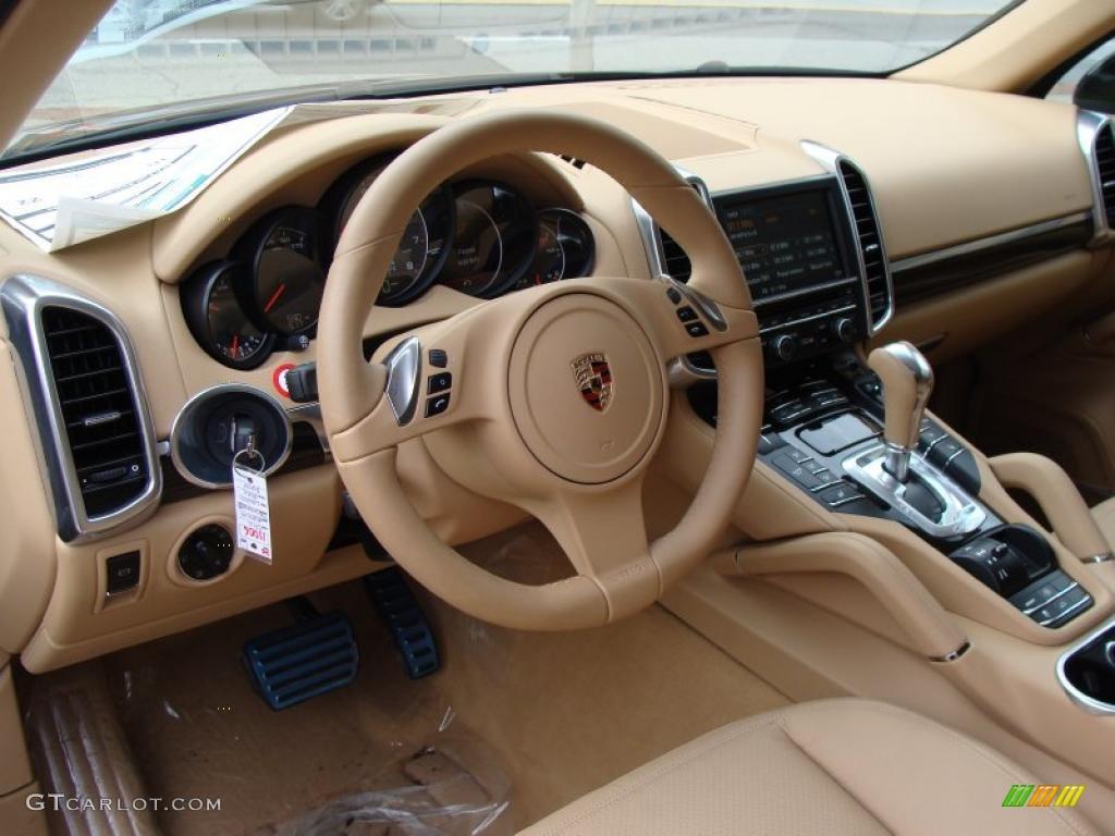 Luxor Beige Interior 2011 Porsche Cayenne S Photo 38002482 Gtcarlot Com
