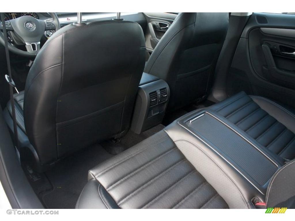 Black Interior 2011 Volkswagen Cc Sport Photo 38008577