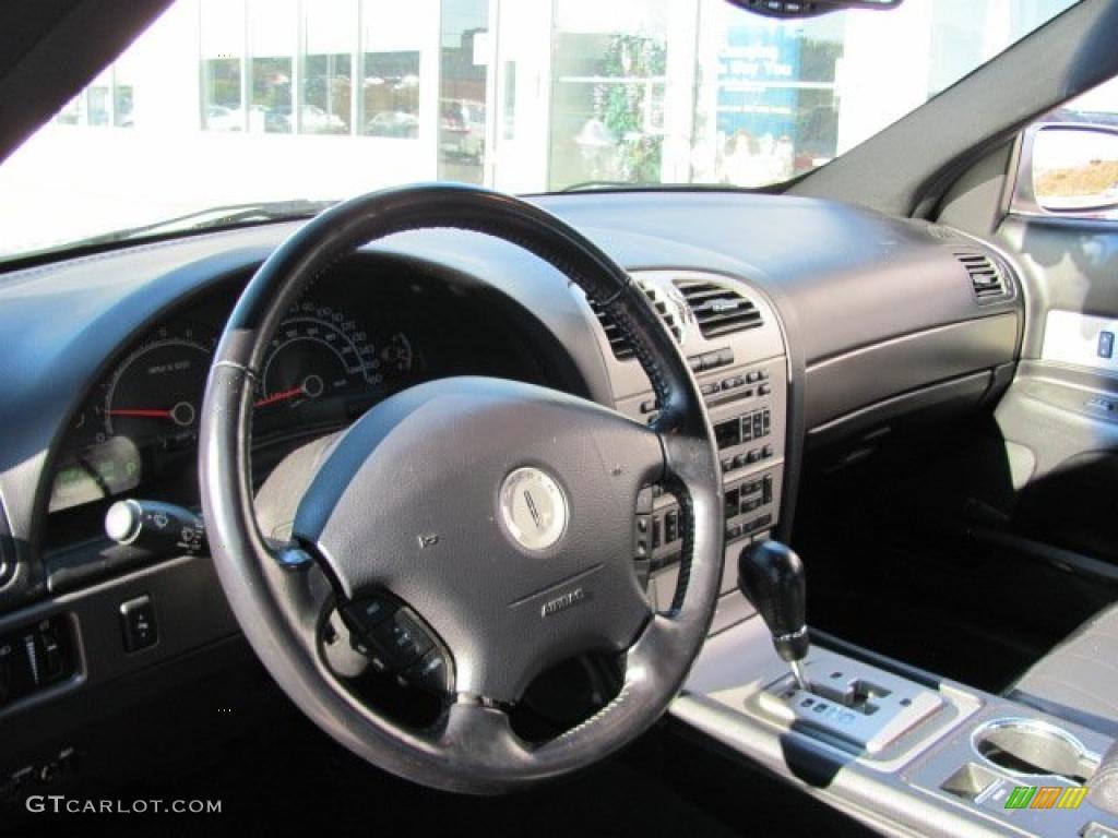 Black Interior 2003 Lincoln Ls V8 Photo 38019116