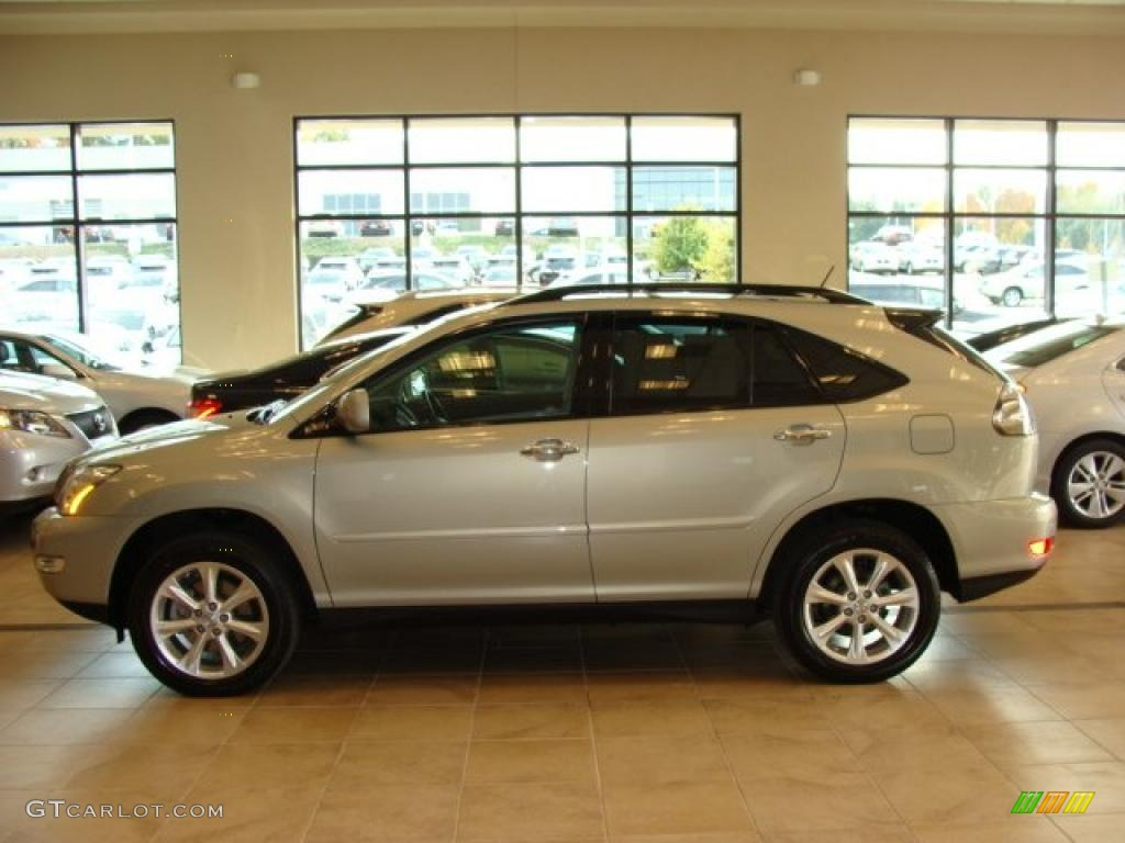 2009 bamboo pearl lexus rx 350 awd 38010336 car color galleries. Black Bedroom Furniture Sets. Home Design Ideas