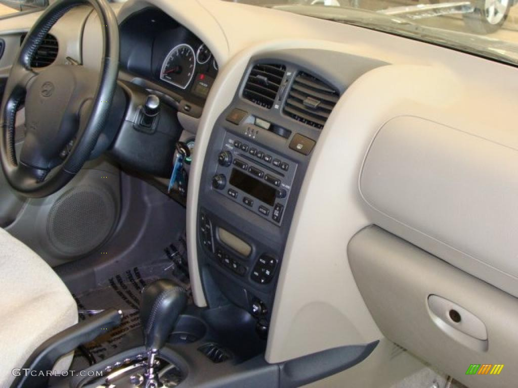 Beige Interior 2005 Hyundai Santa Fe Lx 3 5 Photo 38021068