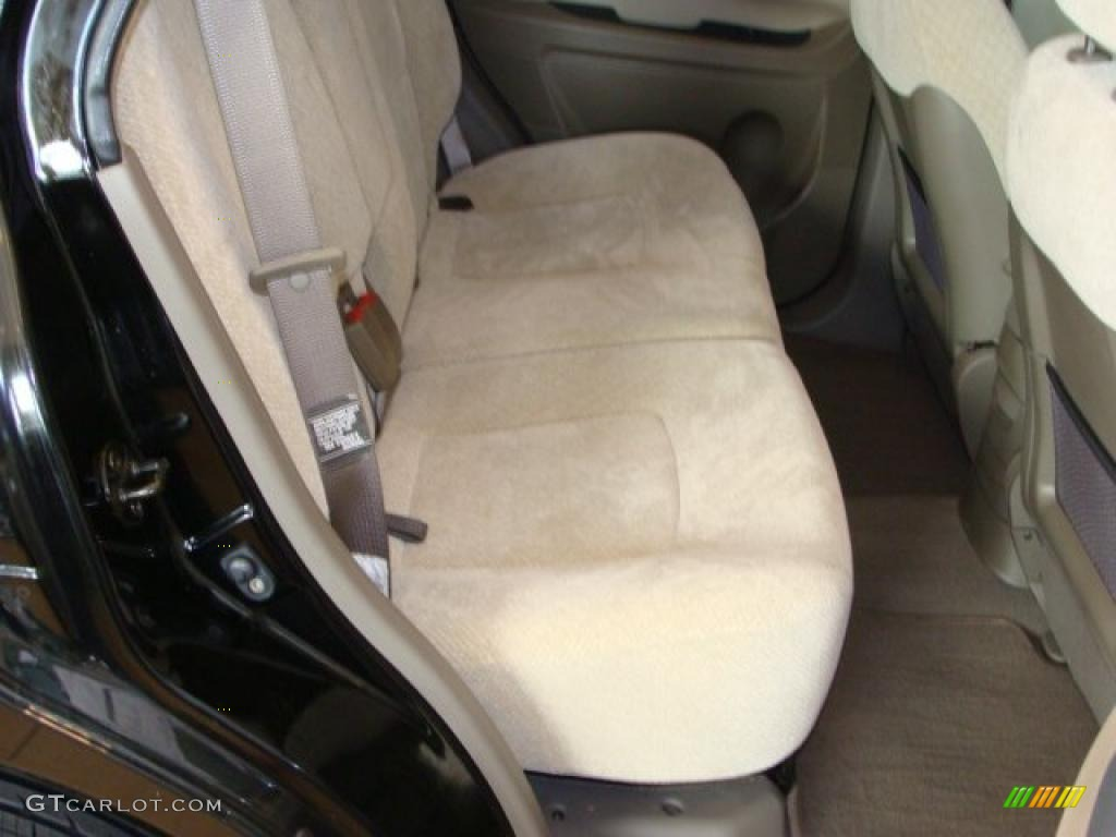 Beige Interior 2005 Hyundai Santa Fe Lx 3 5 Photo 38021100