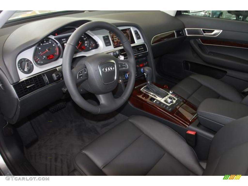 black interior 2011 audi a6 3 2 sedan photo 38027466