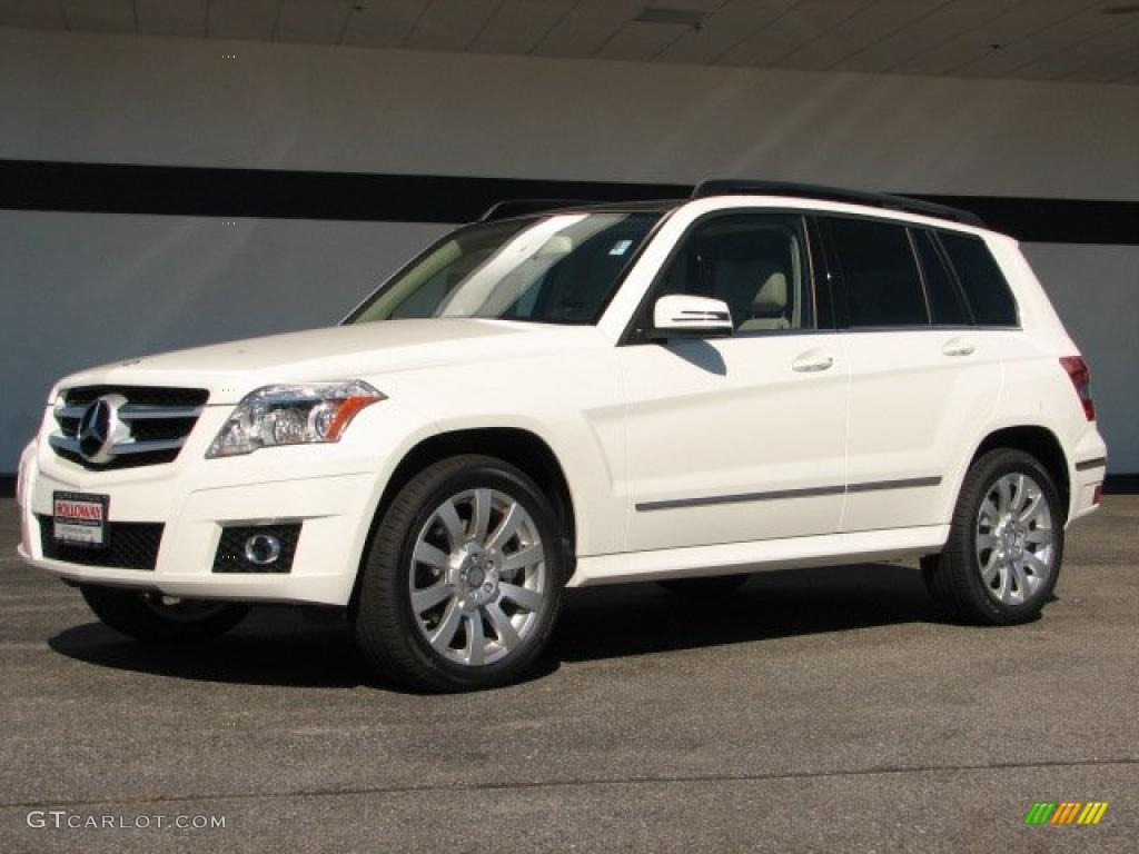 Arctic white 2011 mercedes benz glk 350 4matic exterior for Mercedes benz glk350 2011